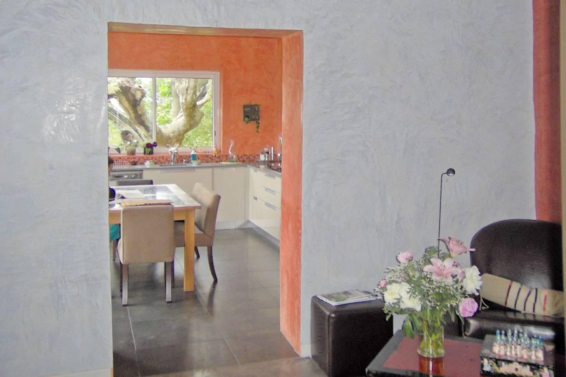 Décoration intérieure : stuc chaux Marmorino