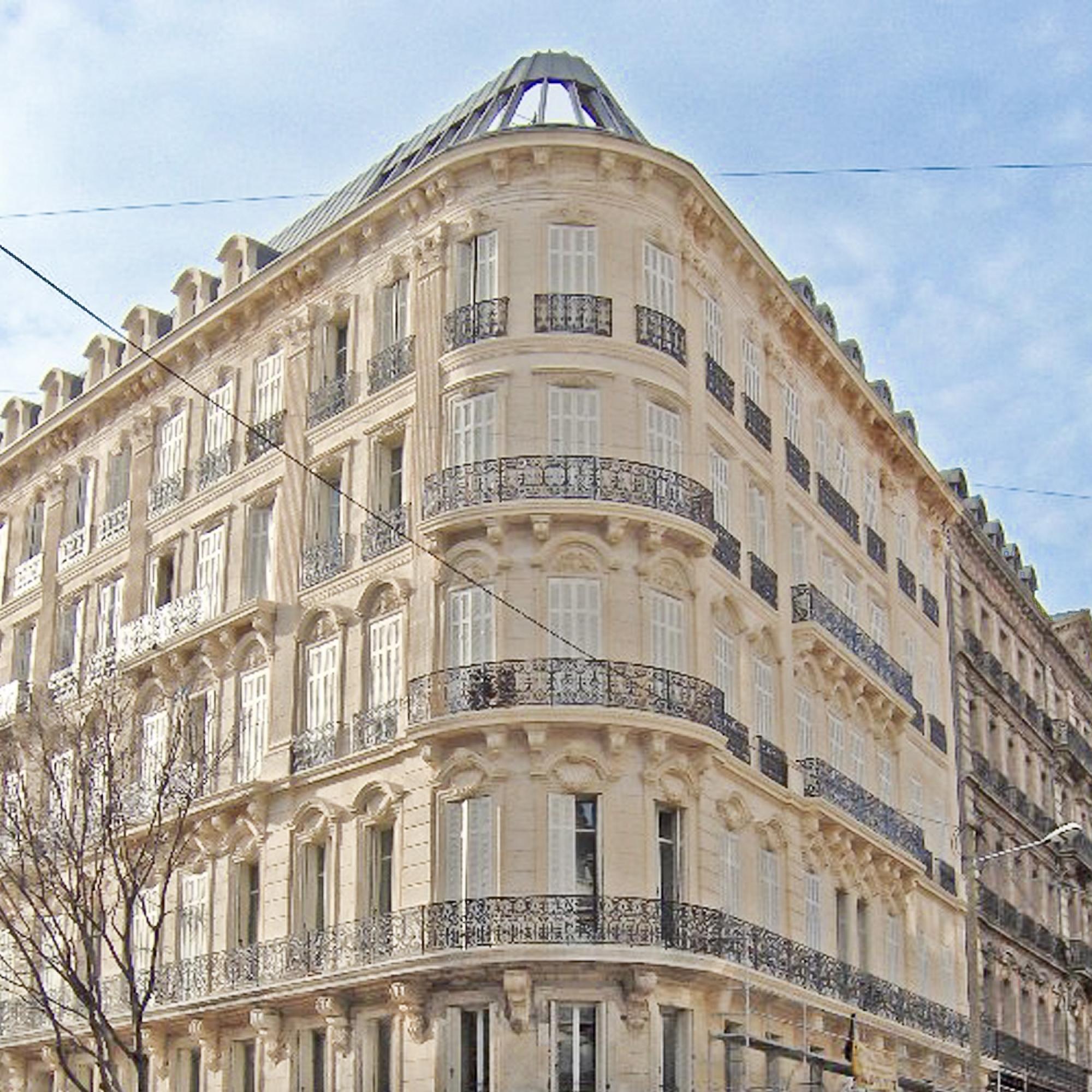 Réhabilitation du Grand Hôtel Noailles de Marseille
